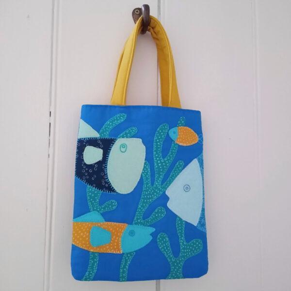 nature walk bag fish