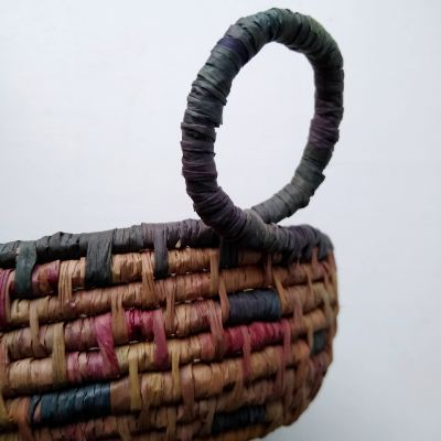 fuchsia-and-blackberry-hand-dyed-raffia-basket