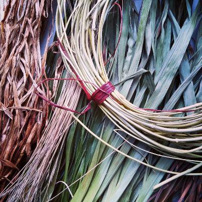 weaving-with-garden-plants
