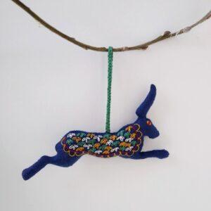 embroidered-felt-hare