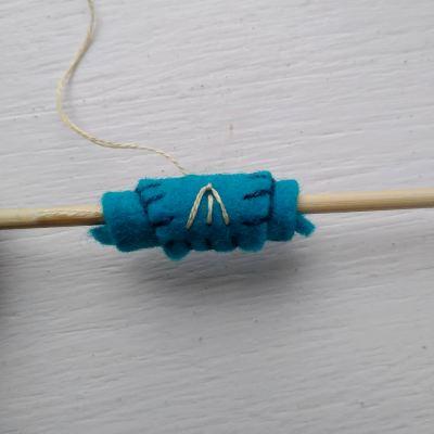how-to-make-felt-beads
