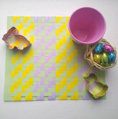 easter-crafts-for-kids-paper-weaving