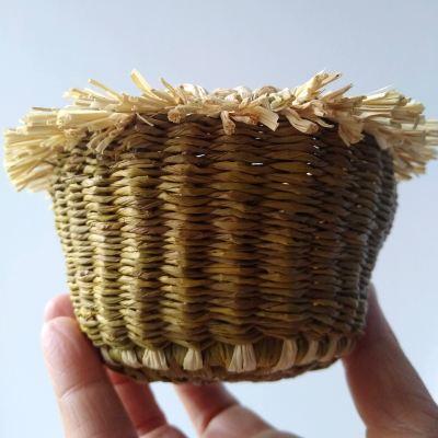daffodil-dye-raffia-basket