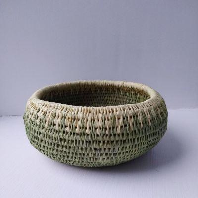 fuchsia-dyed-raffia-basket